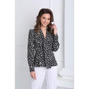 SANDYNA 13931 черно-белый Блуза