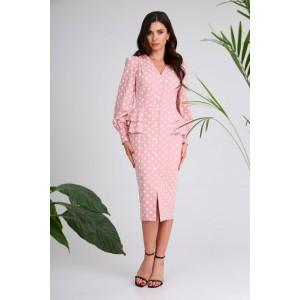 SANDYNA 13939 грязно-розовый Платье