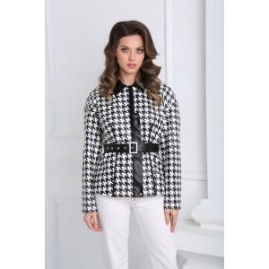 SANDYNA 13942 черно-белый Куртка