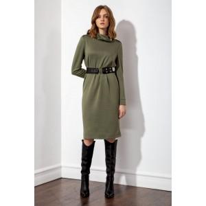 SETTE S5046 оливковый Платье